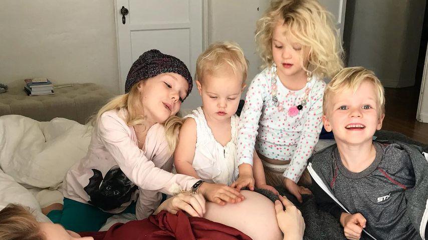 Kimberly Van Der Beek und ihre Kinder