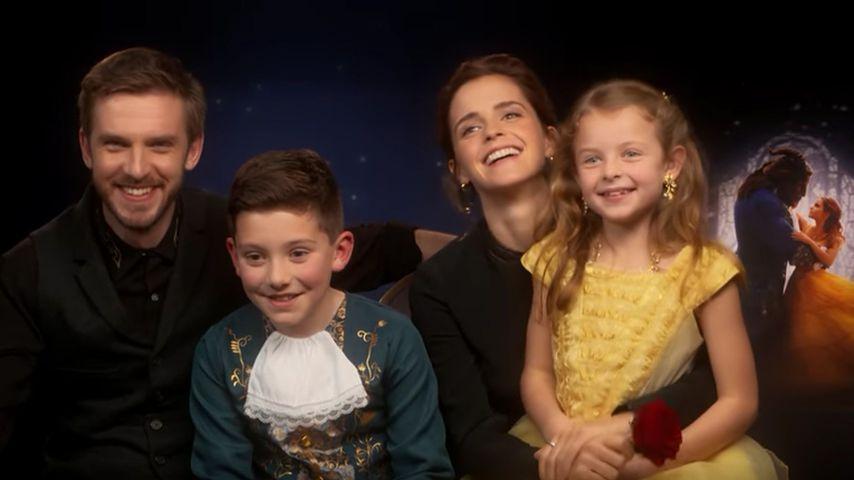 """So süß! Diese """"Schöne & das Biest""""-Fans verzücken Dan & Emma"""