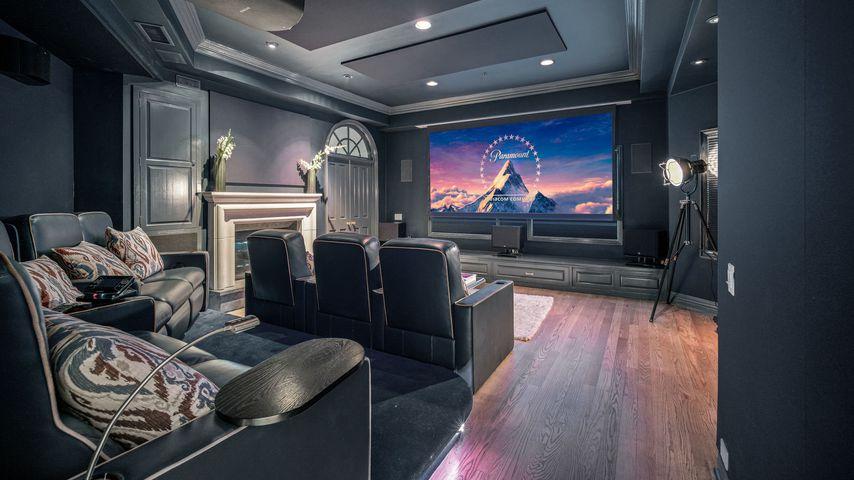Kinozimmer von Prinz Harry und Herzogin Meghans möglicher Villa