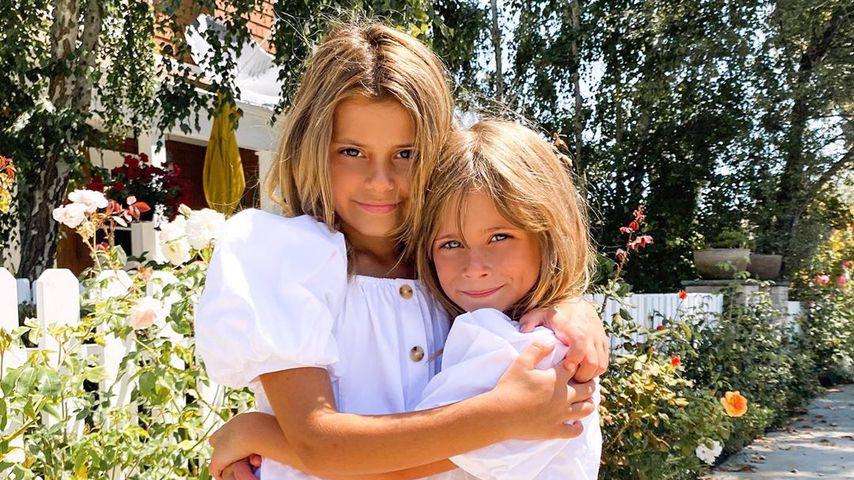 Kinsley und Charlie, Töchter von Amanda Stanton
