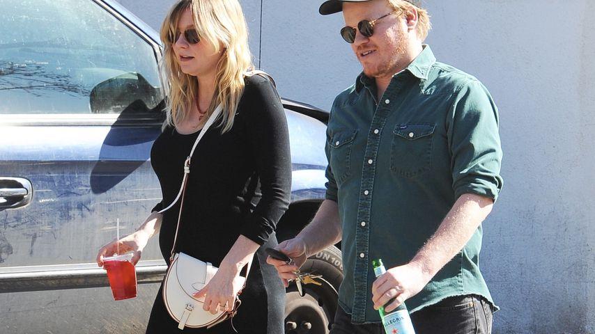 Kirsten Dunst und ihr Verlobter Jesse Plemons in Los Angeles