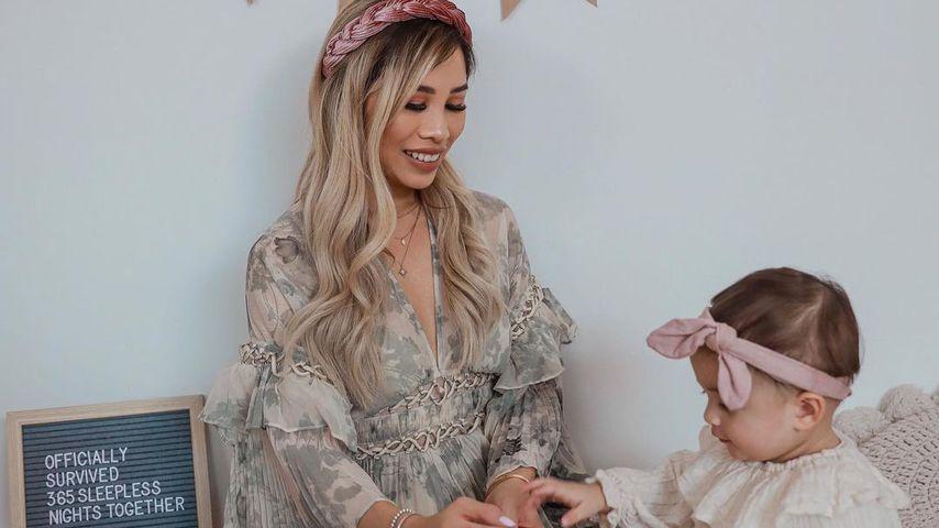 Kisu und ihre Tochter Milena im November 2020