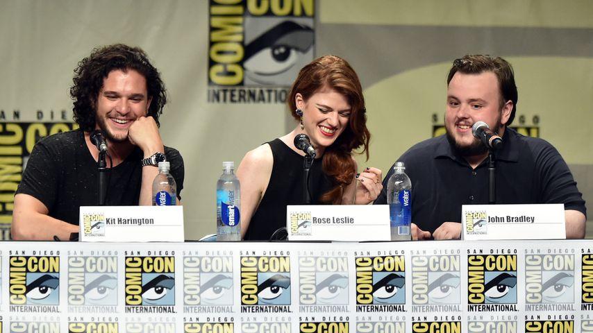 Kit Harington, Rose Leslie und John Bradley bei der ComicCon 2014