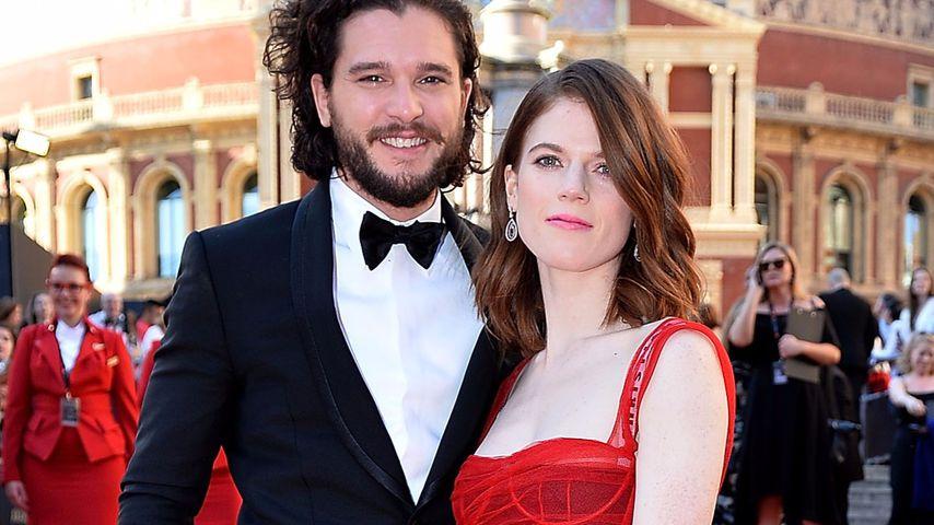 Kit Harington und Rose Leslie bei den The Olivier Awards 2017 in London