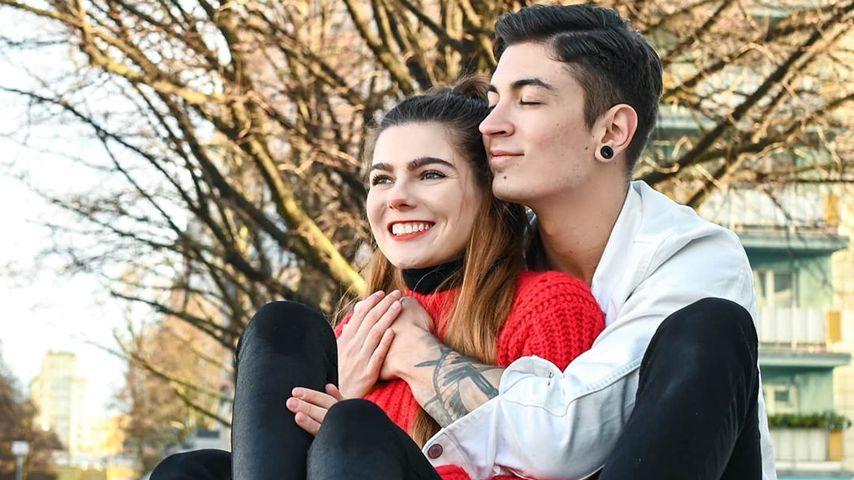 Klaudia Giez und ihr Verlobter Felipe