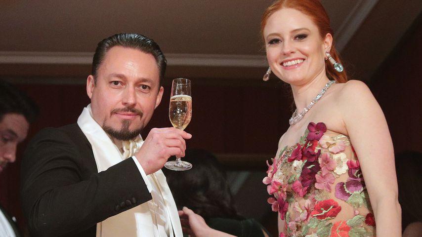 Klemens Hallmann und Barbara Meier beim Wiener Opernball