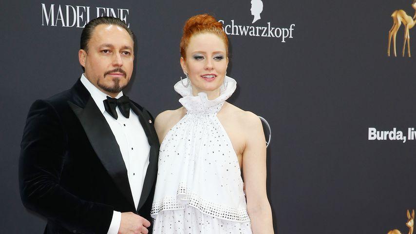 Klemens Hallmann und Barbara Meier beim Bambi 2019