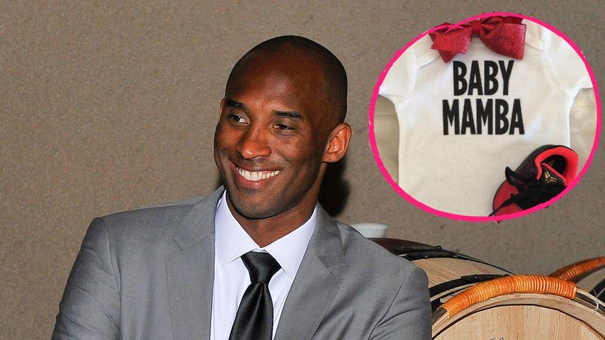 Tolle Babynews! NBA-Star Kobe Bryant wird zum 3. Mal Vater