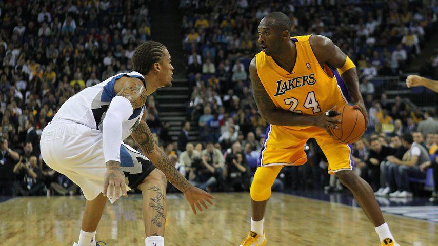 Kobe Bryant bei einem Lakers-Spiel