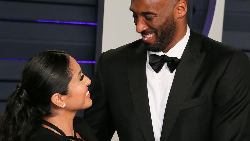 Vanessa Bryant und Kobe Bryant bei der Vanity Fair Oscar Party in Beverly Hills im Februar 2019