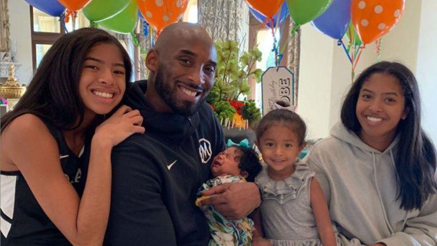 Kobe Bryant mit seinen vier Töchtern, August 2019