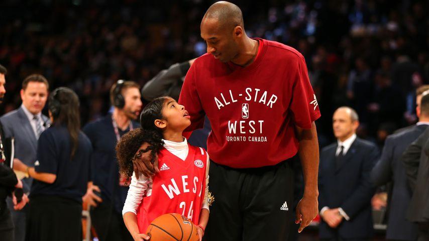 Kobe Bryant zusammen mit seiner Tochter Gianna