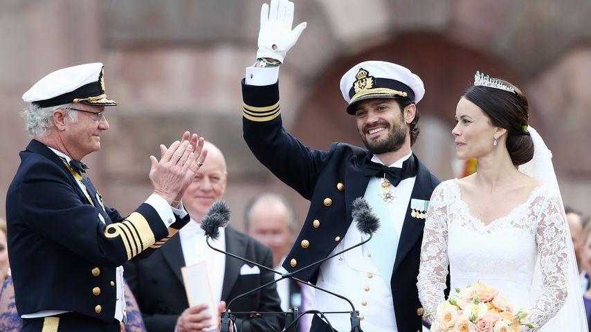 Stolzer Opa! Das verrät Carl Gustaf über Sofias Baby-Prinz