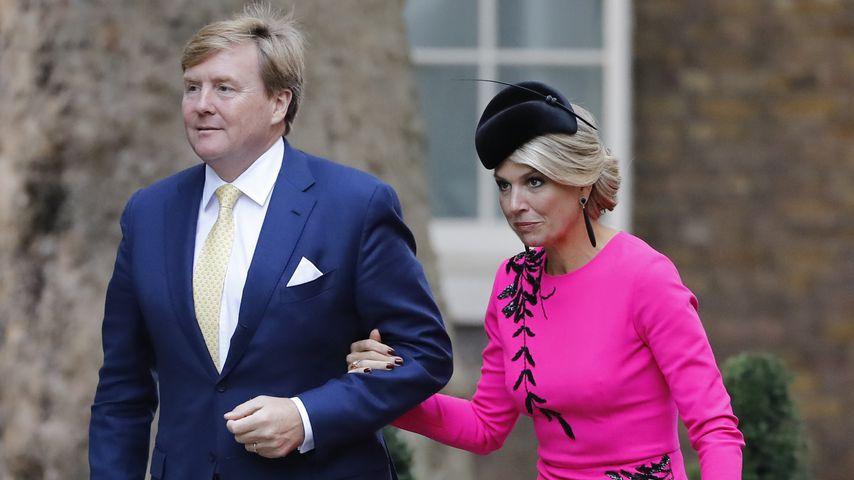 König Willem-Alexander und Königin Maxima im Oktober 2018 in London