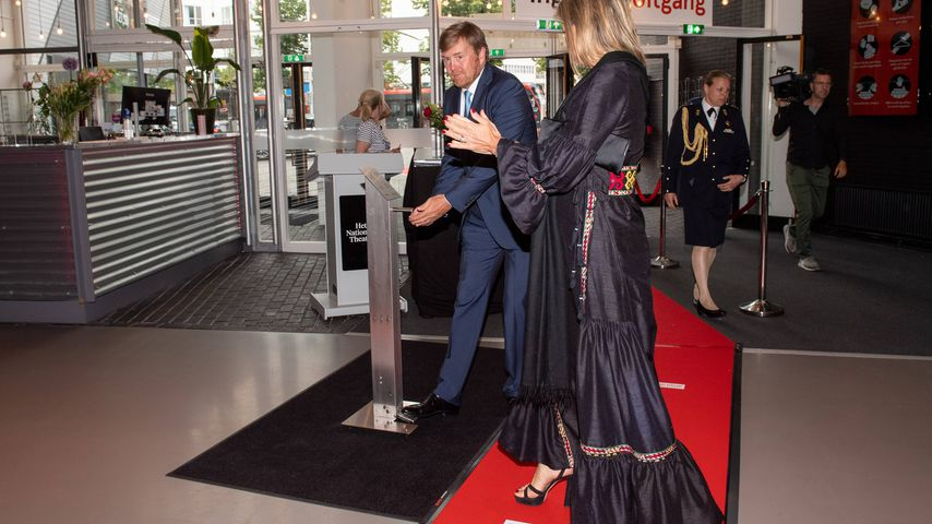 König Willem-Alexander und Königin Máxima im Nationaltheater in Den Haag