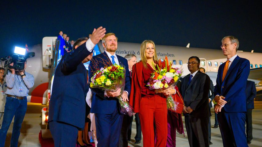 König  Willem-Alexander und Königin Máxima im Oktober 2019