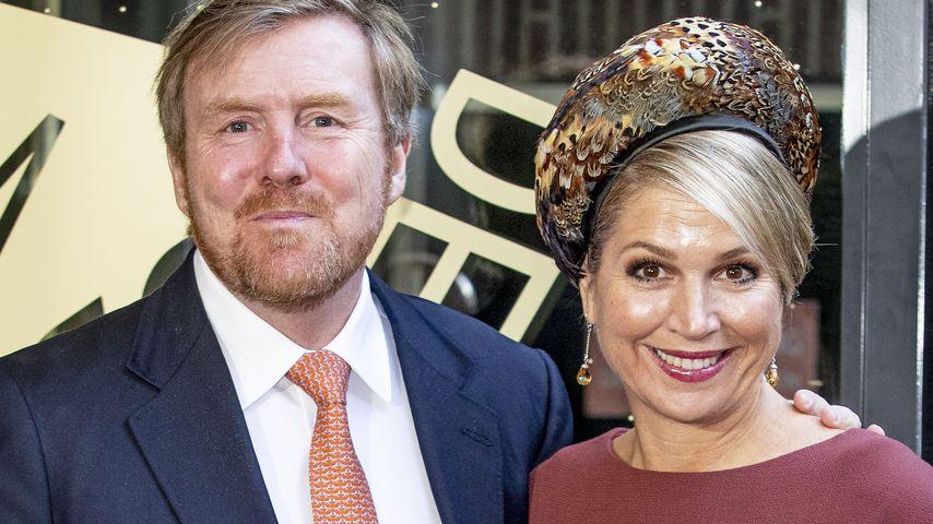 König Willem-Alexander und Königin Maxima der Niederlanden im Jahr 2020