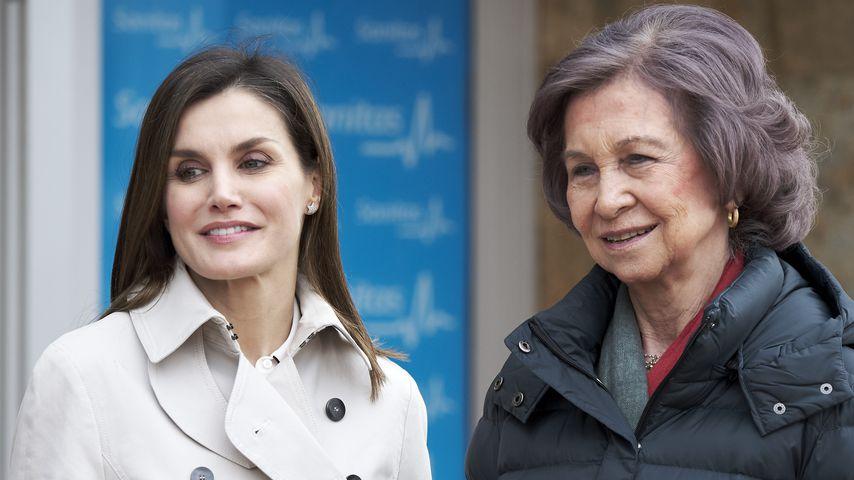Nach Streit-Bildern: Königin Letizia & Sofia ganz vertraut