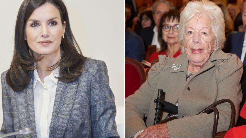 Seltsam: Königin Letizia war nicht bei Beerdigung ihrer Oma