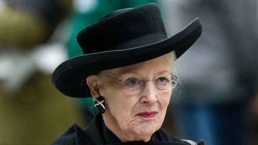 Königin Margrethe II. bei einer Trauerfeier