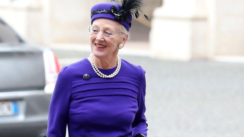 Königin Margrethe im Oktober 2017 in Rom