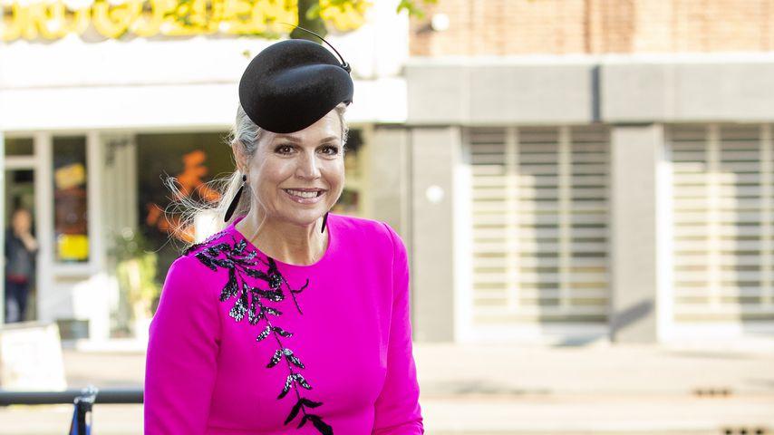 Wie Herzogin Kate: Königin Maxima recycelt ihr pinkes Kleid!