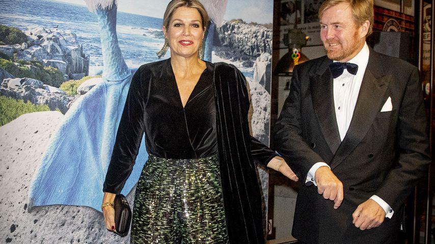 """Königin Máxima und König Willem-Alexander bei der Premiere von """"Galapagos: Hope for the Future"""""""