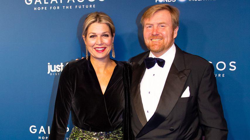 Königin Máxima und König Willem-Alexander in Amsterdam 2019