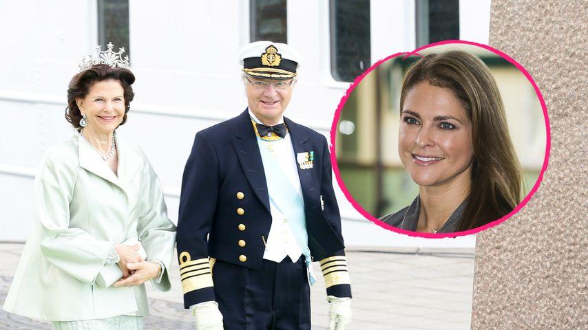 Carl Gustafs Thron-Jubiläum: Warum war Madeleine nicht da?