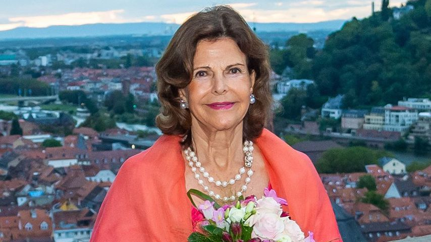 Königin Silvia von Schweden in Heidelberg im Herbst 2019