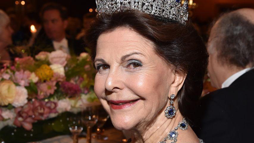 Königin Silvia von Schweden während der Nodelpreis-Verleihung in Stockholm 2016