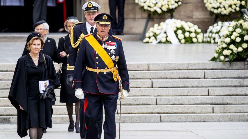 Königin Sonja und König Harald von Norwegen