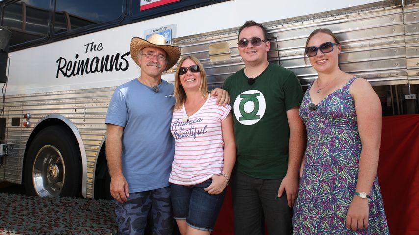 Die Familie Reimann: Konny, Manuela, Jason und Janina