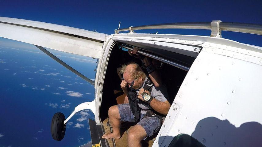 Konny Reimann in über 7.000 Metern Höhe
