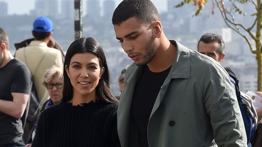 Kourtney Kardashian und Younes Bendjima in Paris