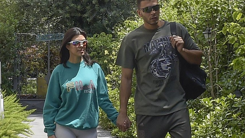 Kourtney Kardashian und Younes Bendjima in Italien