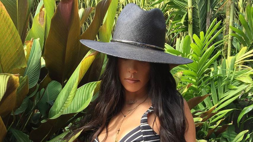 Sexy Rache-Pics: So zahlt Kourtney Kardashian es Scott heim