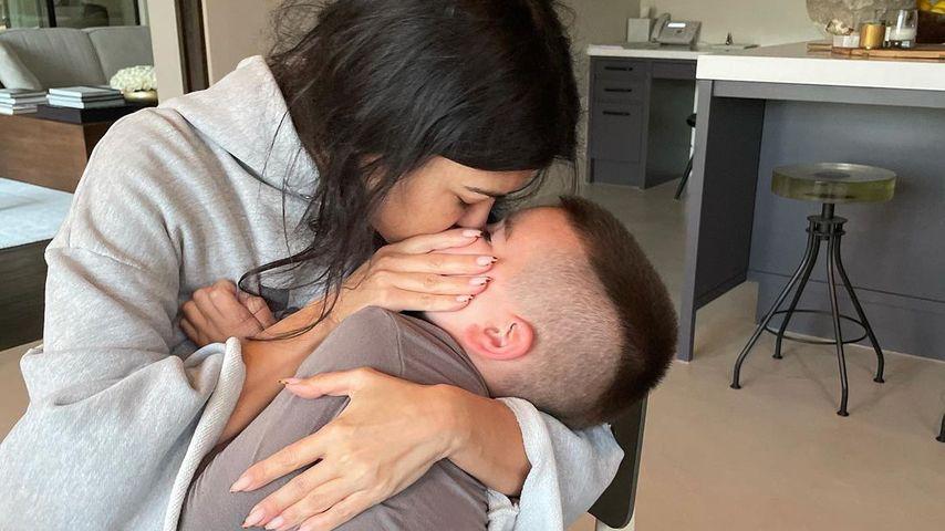 Kourtney Kardashian und Sohn Reign
