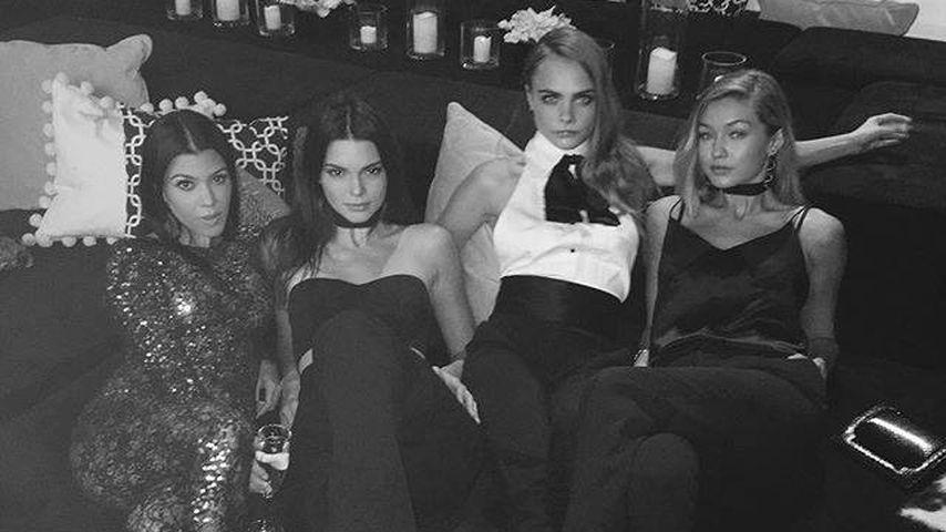 P. Diddys B-Day: Kourtney feiert mit Kendall, Gigi & Cara
