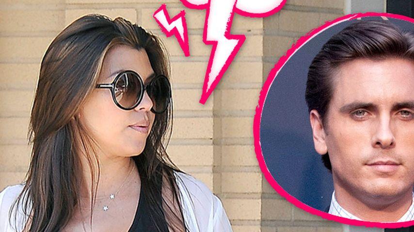 Kourtney Kardashian: Hat sie Scott rausgeworfen?