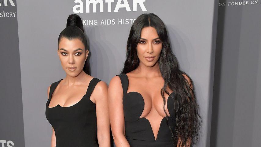 Kourtney Kardashian und Kim Kardashian
