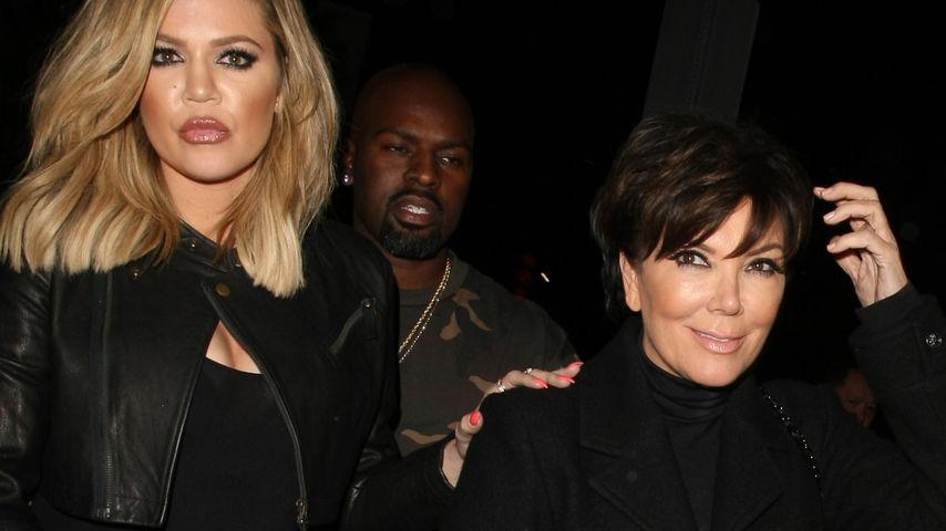 Kendall Jenner, Kourtney Kardashian und Kris Jenner