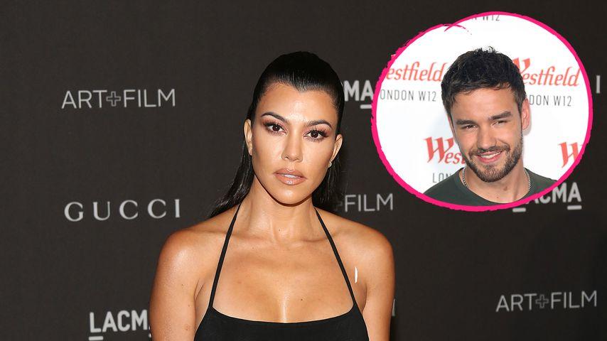 Nach Liam Paynes Flirt: So denkt Kourtney Kardashian darüber