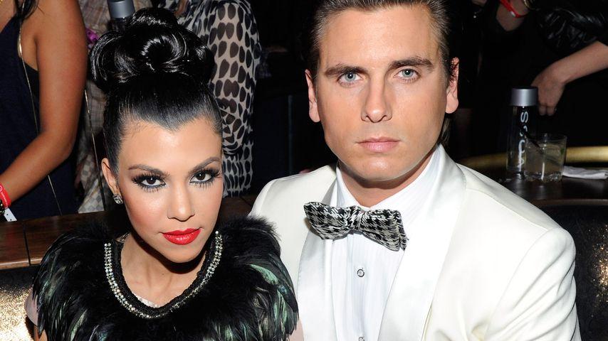 Kourtney Kardashian und Scott Disick im Februar 2011