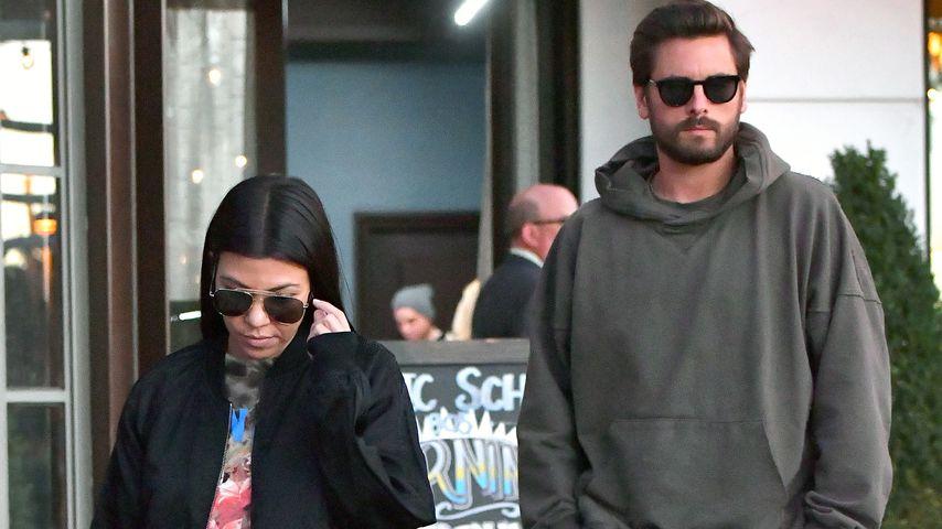 Kourtney Kardashian: Kriegt sie ein Baby mit Scott Disick?