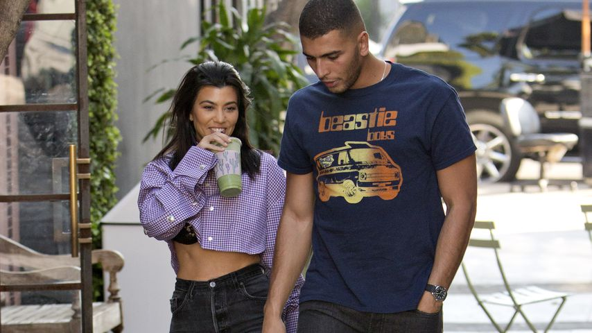 Kourtney Kardashian und Younes Bendjima, Februar 2018