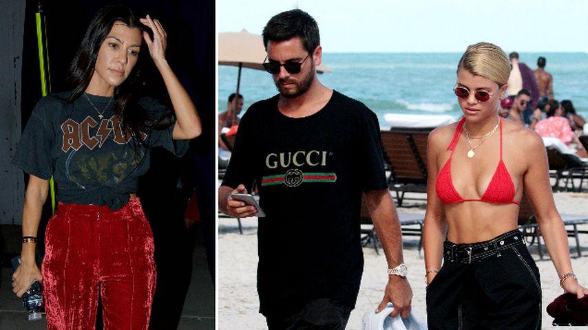 Kourtney Kardashian: Sie gibt Scott & Sofia ihren Segen!
