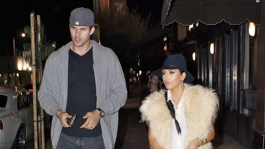 Kris Humphries und Kim Kardashian unterwegs in Los Angeles im Jahr 2011