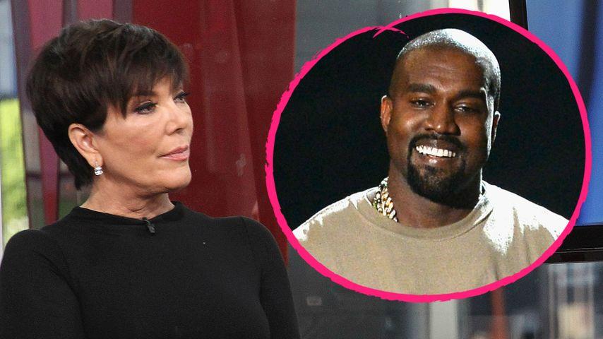 In Sachen Styling: Kris Jenner fürchtet sich vor Kanye West