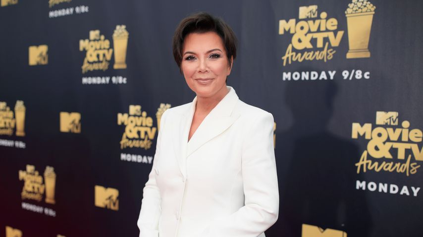 Reality-TV-Star Kris Jenner bei den MTV Movie And TV Awards 2018
